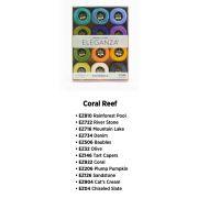 Wonderfil Eleganza 8wt Ball Pack - Coral Reef by Wonderfil Eleganza Perle 8 Balls - Thread Collections