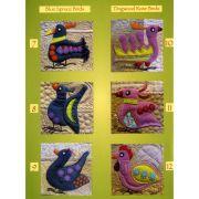 Sue Spargo Ellana Wool Thread Set for the Bird Dance Quilt by Sue Spargo - Sue Spargo Ellana 12wt Wool
