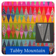 Tabby Mountain Quilt Template Set by OzQuilts - OzQuilts Templates