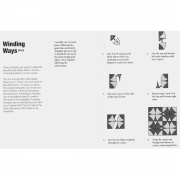 "Winding Ways 12"" Template Set by Matilda's Own - Quilt Blocks"