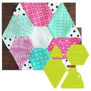 Prism Hexagon Template Set by Meredithe Clark Designer Collection - Meredithe Clark Designers