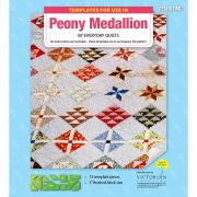 Peony Medallion Template Set by Matilda's Own - Quilt Blocks