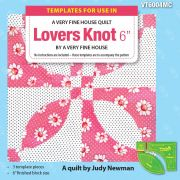 """Lover's Knot 6"""" Template Set by Matilda's Own - Quilt Blocks"""