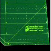 Matilda's Own Miter Ruler by Matilda's Own - Bias, Binding, Mitering, Piping Rulers