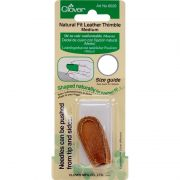 Clover Natural Fit Leather Thimbles Medium by Clover - Thimbles