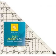 """EZ Quilting Easy Angle 4½"""" Ruler by EZ Quilting - Triangles"""