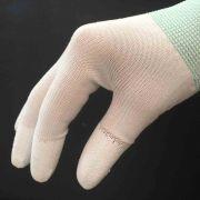 White Machine Quilting Gloves - Medium by OzQuilts - Gloves