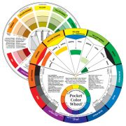 """Pocket Color Wheel Mixing Guide 5⅛"""" by  - Colour & Design Tools"""