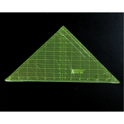 """Matilda's Own 90 Degree Triangle Ruler 6.5"""" Tall by Matilda's Own - Triangles 90 Degrees"""