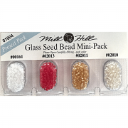Mill Hill Glass Seed Beads Minipack 4 by Mill Hill - Beads