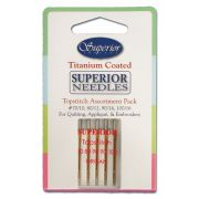 Superior Titanium Topstitch Needles -Assortment by Superior Threads - Machines Needles