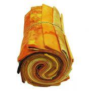 Hoffman 1895 Batiks 12 Fat Quarters Tangerine Sunrise by Hoffman 1895 Watercolour Batik - Fat Quarter Packs