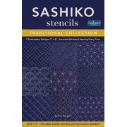 Sashiko Stencils Traditional Collection by  - Embroidery