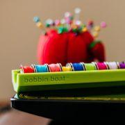 Bobbin Boat Lime Green by Dritz - Organisers
