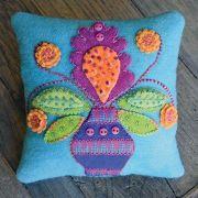 Canna Blossom Pincushion Pattern by Sue Spargo Pattern by Sue Spargo - Sue Spargo