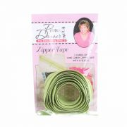 3 yards of Reversible Coil Zipper Tape with 8 Slides Lime by Decorating Diva - Zipper By the Yard