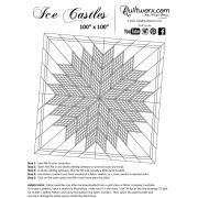 Ice Castles Quilt Pattern & Papers by Judy Niemeyer by Quiltworx - Judy Niemeyer Quiltworx
