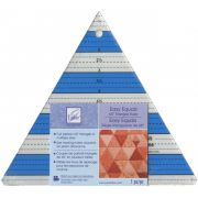 """June Tailor Easy Equals 8½"""" Tall  60 Degree Triangle Ruler by June Tailor - Triangles 60 Degrees"""