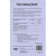 Faux Chenille Scarf Pattern By Annie by ByAnnie - Clothing & Toys