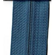 3 yards of Reversible Coil Zipper Tape with 8 Slides Denim by Decorating Diva - Zipper By the Yard