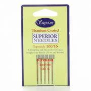 Superior Titanium Topstitch Needles 100/16 by Superior Threads - Machines Needles