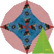 "Kaleidoscope Wedge 8"" Ruler by Matilda's Own - Quilt Blocks"
