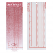 Add-Enough Template by CM Designs - Add A Quarter Rulers