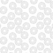 """White on White Circle Burst 108"""" Wide Back by Kimberbell - Wide Quilt Backs"""