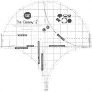 Clammy Ruler 12 Inch by Latifah Saafir Studios - Clamshell