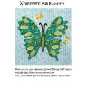 Whatevers! #36 Butterfly Collage Pattern by Laura Heine by  - Collage