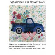 Whatevers! #37 Flower Truck Collage Pattern by Laura Heine by  - Collage
