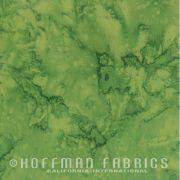 Hoffman Bali Batiks 1895 - 220 Fern by Hoffman 1895 Watercolour Batik - Hoffman 1895 Watercolours Batik