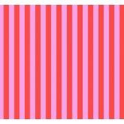 Tula Pink Tent Stripe - Poppy by Tula Pink - Tula Pink