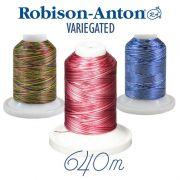 Robison-Anton Variegated Embroidery Thread 640 metres by Robison-Anton Thread - Robison Anton Embroidery Thread