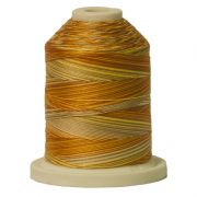 Signature Cotton Variegated Thread 40wt 700 Yards Golden Harvest by  - Variegated Cotton 40wt 700 Yards
