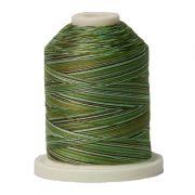 Signature Cotton Variegated Thread 40wt 700 Yards Grassy Greens by  - Variegated Cotton 40wt 700 Yards