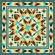 Taos Quilt Pattern by Chris Hoover of Whirligig Designs by Whirligig Designs - Quilt Patterns