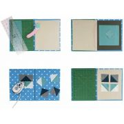 Quilter's 4-in-1 Multi Mat - Grey with White Dots by Sew Easy - Cutting Mats