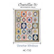 Venetian Windows Chenille-it Quilt Pattern by Chenille It - Quilt Patterns