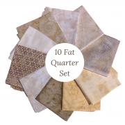 Bali Batik 10 Fat Quarter Collection by  - Clearance