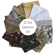 Bali Batik 12 Fat Quarter Collection by  - Clearance