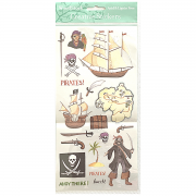 Creative Stickers - Pirates by  - Clearance