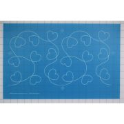 Full Line Stencil I Love It! by Hancy Full Line Stencils - Pounce Pads & Quilt Stencils