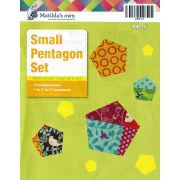Matilda's Own Small Pentagon Patchwork Template Set