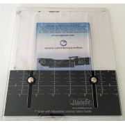 "Westalee 7"" Ruler with Locking Fabric Guide"