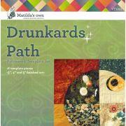 "Matilda's Own Drunkards Path 3"",4"" and 5"""