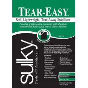 """Tear Easy Tear-Away Stablizer Black 20"""" x 1 yard"""