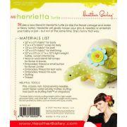 Henrietta Turtle Pin Cushion or Toy