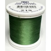YLI Silk 100 Thread -219 Dark Mint Green