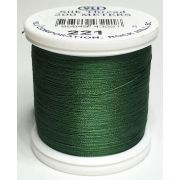 YLI Silk 100 Thread -221 Dark Pine Green